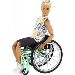 Кукла Кен Модник в инвалидной коляске Barbie Ken Fashionistas Doll with Wheelchair and Ramp 167