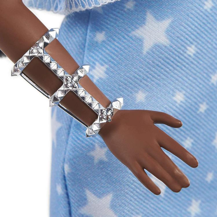 Лялька Барбі Модниця Barbie Fashionistas Doll with 2 Twisted Braids & Prosthetic Leg Wearing Star-Print Dress 146