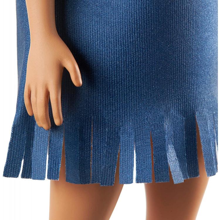 Лялька Барбі Модниця Barbie Fashionistas Doll with Long Red Hair Wearing Tie-Dye Fringe Dress 141