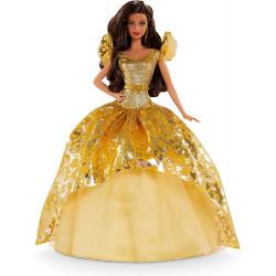 Кукла Барби коллекционная Праздничная Barbie Signature Holiday 2020 Doll, Brunette Long Hair