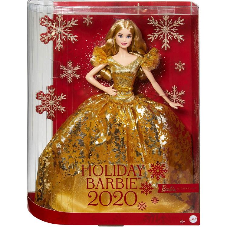 Кукла Барби коллекционная Праздничная Barbie Signature Holiday 2020 Doll, Blonde Long Hair