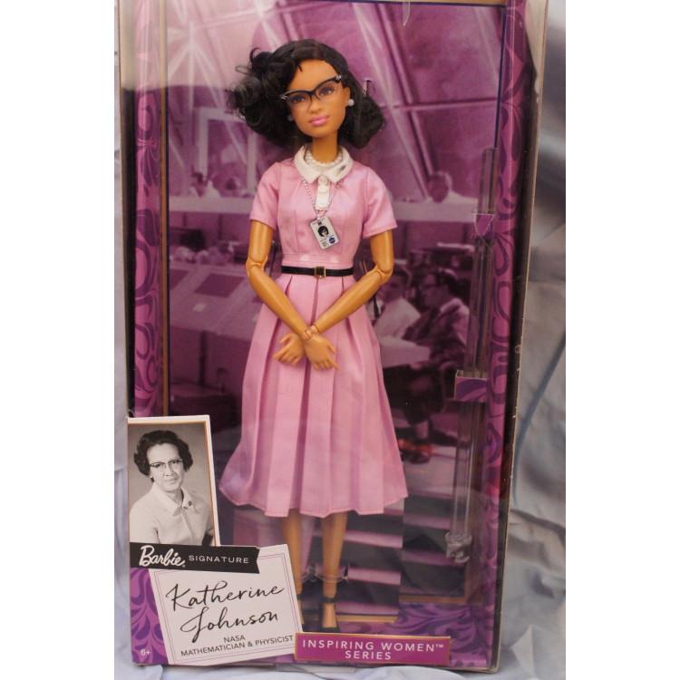 Лялька Барбі колекційна Кетрін Джонсон Barbie Inspiring Women Katherine Johnson Doll