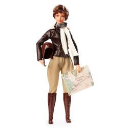 Кукла Барби Вдохновляющие женщины Амелия Эрхарт Barbie Inspiring Women Amelia Earhart Doll