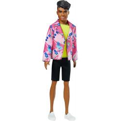 Кукла Кен в честь 60-летия Барби Barbie Ken 60th Anniversary Doll in Throwback Rocker Derek Look