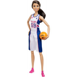Кукла Барби Баскетболистка Безграничные Движения Barbie Made to Move Вasketball Player Doll