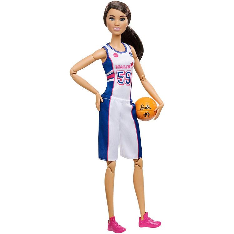 Барбі Баскетболістка Безмежні Рухи Barbie Made to Move Вasketball Player Doll