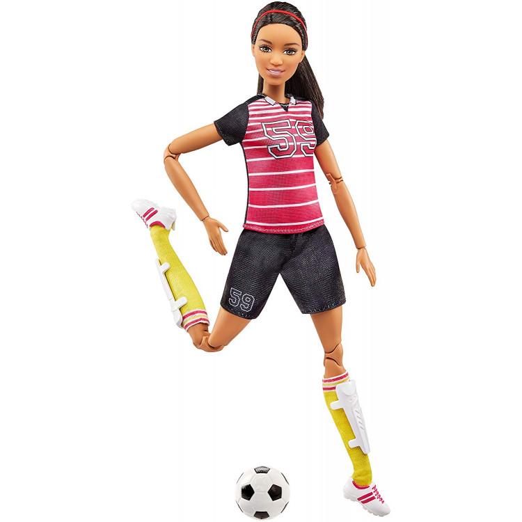Кукла Барби Футболистка Я могу быть Barbie Careers Made to Move Soccer Player Doll