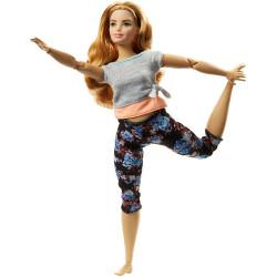 Кукла Барби Йога Двигайся как я Barbie Made to Move Barbie Doll, Curvy