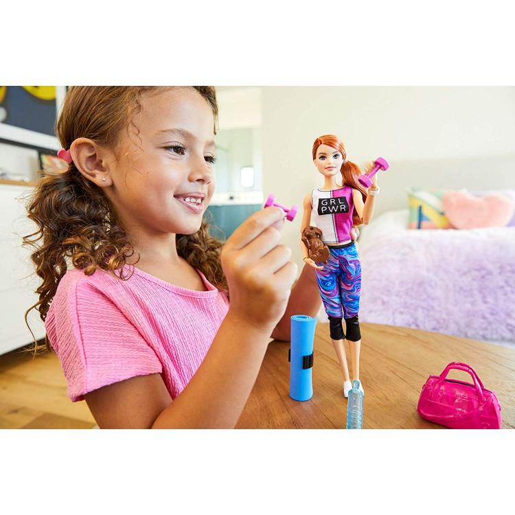 Лялька Барбі Фітнес Barbie Fitness Doll