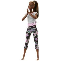 Кукла Барби Йога Двигайся как я Barbie Made to Move Barbie Doll, Dark Hair