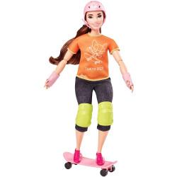 Кукла Барби Скейтбординг Олимпийские игры Токио Barbie Olympic Games Tokyo 2020 Skateboarder Doll