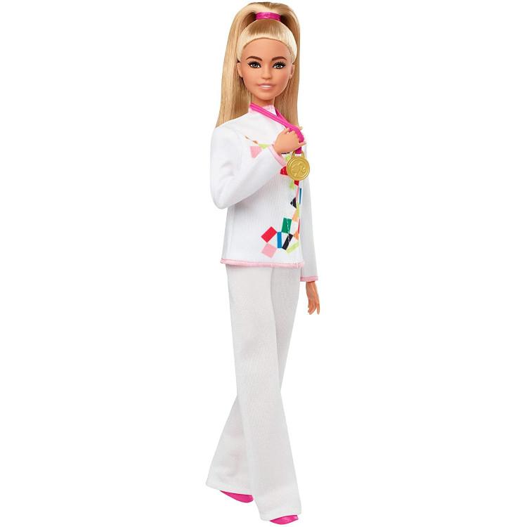Лялька Барбі Карате Олімпійські ігри Токіо Barbie Olympic Games Tokyo 2020 Karate Doll