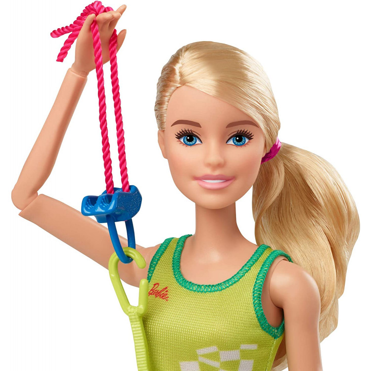 Кукла Барби Спортивное скалолазание Олимпийские игры Токио Barbie Olympic Games Tokyo 2020 Sport Climber Doll