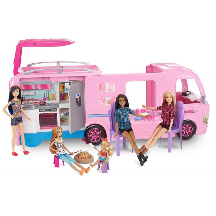 Барбі Кемпер мрії трейлер для подорожей Barbie Dream Camper