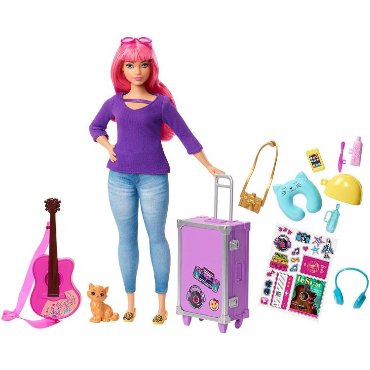 Барбі Мандрівниця Дейзі Barbie Daisy Doll and Travel Set