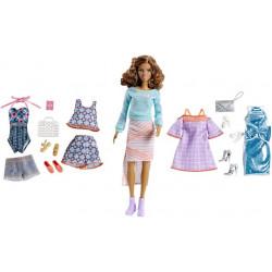 Кукла Барби Тереза Путешествие с набором одежды Barbie Pink Passport Teresa Doll Gift Set