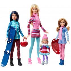 Набор кукол Барби и сёстры Зимний отпуск Barbie Sisters Winter Getaway