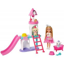 Кукла Барби Челси Замок для домашних животных Приключение принцессы Barbie Princess Adventure Chelsea Pet Castle Playset