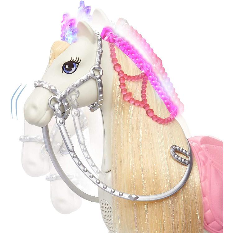 Лялька Барбі Пригода принцеси та Мерехтлива інтерактивна конячка Barbie Princess Adventure Doll and Prance & Shimmer Horse