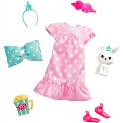 Одежда для кукол Барби Приключение принцессы Barbie Princess Adventure Doll Clothes Fashion Pack with Pet Bunny