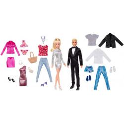 Набор кукол Барби и Кен с комплектами одежды Barbie & Ken Dolls with Fashion Giftset