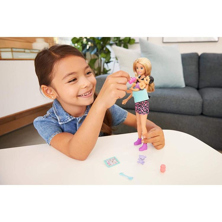Кукла Барби Скиппер Няня с младенцем Barbie Skipper Babysitters Inc. Blonde Doll & Baby