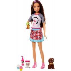 Кукла Барби Скиппер со щенком Barbie Skipper Sisters Icecream Cooking Play Set