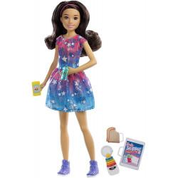 Кукла Барби Скиппер няня Barbie Skipper Babysitters Doll, Black Hair
