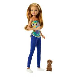 "Кукла Барби Стейси со щенком ""Большое приключение щенков"" Barbie Great Puppy Adventure Stacie Doll"