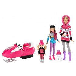 Набор кукол Барби и сёстры Зимнее веселье Barbie Sisters Snow Fun Doll Giftset