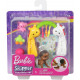 Барби пупс младенец Barbie Skipper Babysitters Inc. Crawling and Playtime Playset with Baby Doll