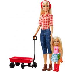 Набор кукол Барби и Челси на ферме Barbie Sweet Orchard Farm Barbie & Chelsea Dolls