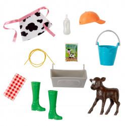 Набор аксессуаров На ферме для кукол Барби Barbie Sweet Orchard Farm Fashions & Accessories