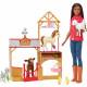 Кукла Барби Ветеринар на ферме Barbie Sweet Orchard Farm Doll & Vet Playset, Brunette