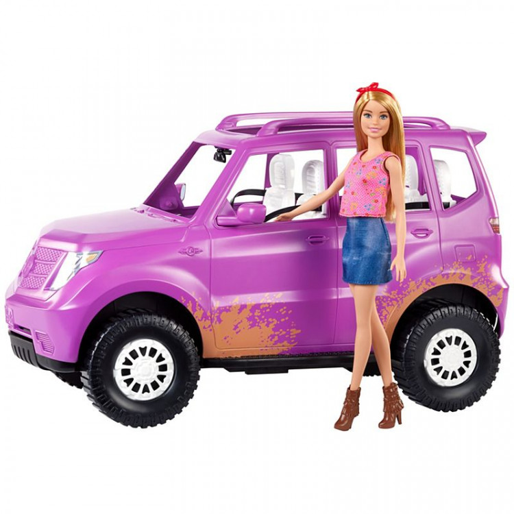 Ігровий набір Лялька Барбі з джипом на фермі Barbie Sweet Orchard Farm Barbie Doll & Vehicle