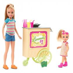 Игровой набор Лимонадный киоск Барби с куклами Стейси и Челси Barbie Team Stacie Lemonade Stand Playset