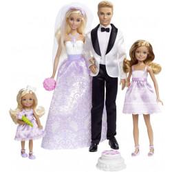 Набор кукол Барби Свадьба Barbie I Can Be A Bride Wedding Day Set