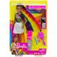 Кукла Барби Радужное сияние волос Barbie Rainbow Sparkle Hair Doll, Brunette