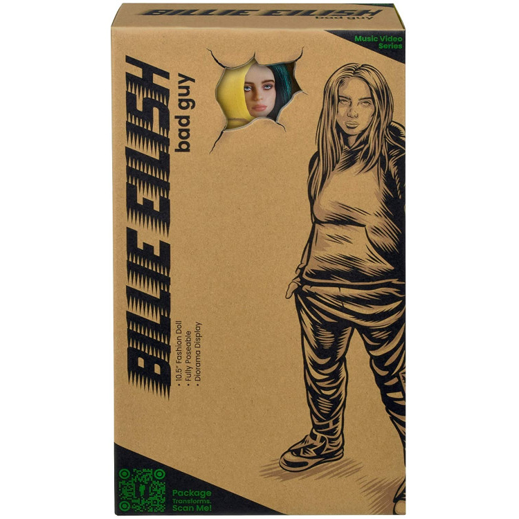 Лялька колекційна Біллі Айліш Billie Eilish Bad Guy Fashion Doll