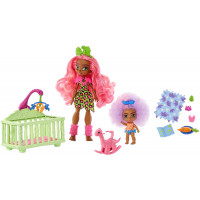 Ігровий набір Дитяча кімната з лялькою Фернесса Печерний клуб Cave Club Wild About Babysitting Playset with Fernessa & Furrah Dolls