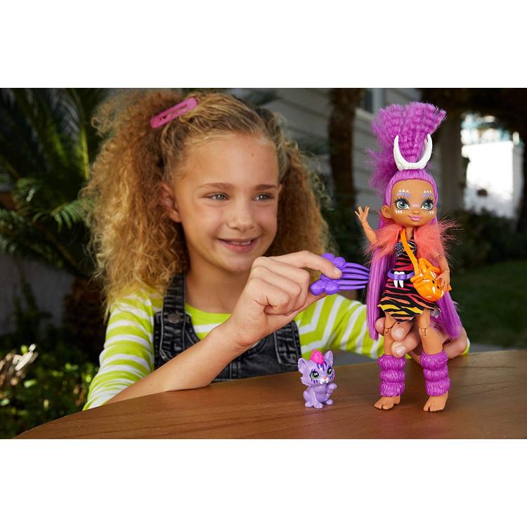 Лялька Роарелей та вихованець Феррелл Печерний клуб Cave Club Roaralai Doll with Ferrell Dinosaur Pet
