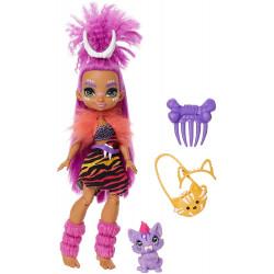 Кукла Роарелей и питомец Феррелл Пещерный клуб Cave Club Roaralai Doll with Ferrell Dinosaur Pet