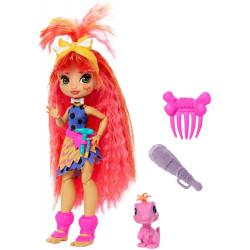 Кукла Эмберли и питомец Флер Пещерный клуб Cave Club Emberly Doll with Flaire Dinosaur Pet