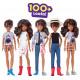 Игровой набор Кукла с аксессуарами Созидаемый мир, темные вьющиеся волосы Creatable World Deluxe Character Kit Customizable Doll, Brunette Wavy Hair