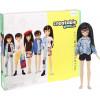 Игровой набор Кукла с аксессуарами Созидаемый мир, черные прямые волосы Creatable World Deluxe Character Kit Customizable Doll, Black Straight Hair