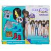 Ігровий набір Лялька з аксесуарами Творимий світ, темне хвилясте волосся Creatable World Deluxe Character Kit Customizable Doll, Brunette Wavy Hair