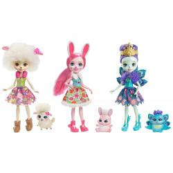 Набір з троьх ляльок Enchantimals Friendship Set Doll 3-Pack