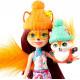 Набор из пяти кукол Снежный день с друзьями Enchantimals Snow Day Friends Collection 5 Pack Dolls