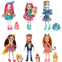 Набір з шести ляльок Enchantimals Natural Friends  6 Pack Collection Dolls