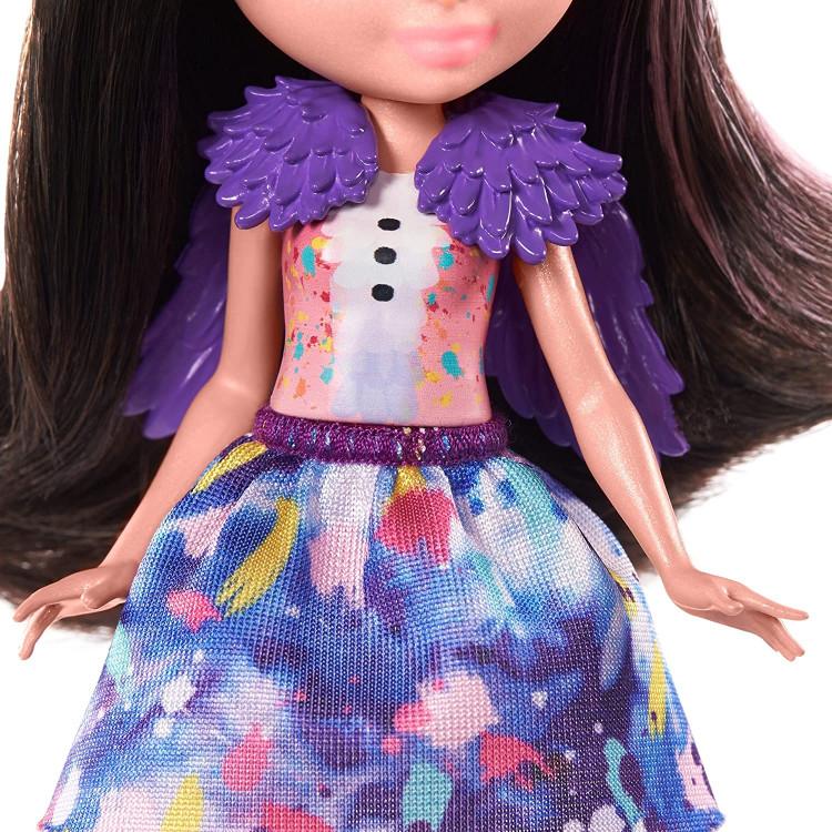 Ігровий набір Сім'я Страуса Офелії Enchantimals Family Toy Set with Ofelia Ostrich Doll